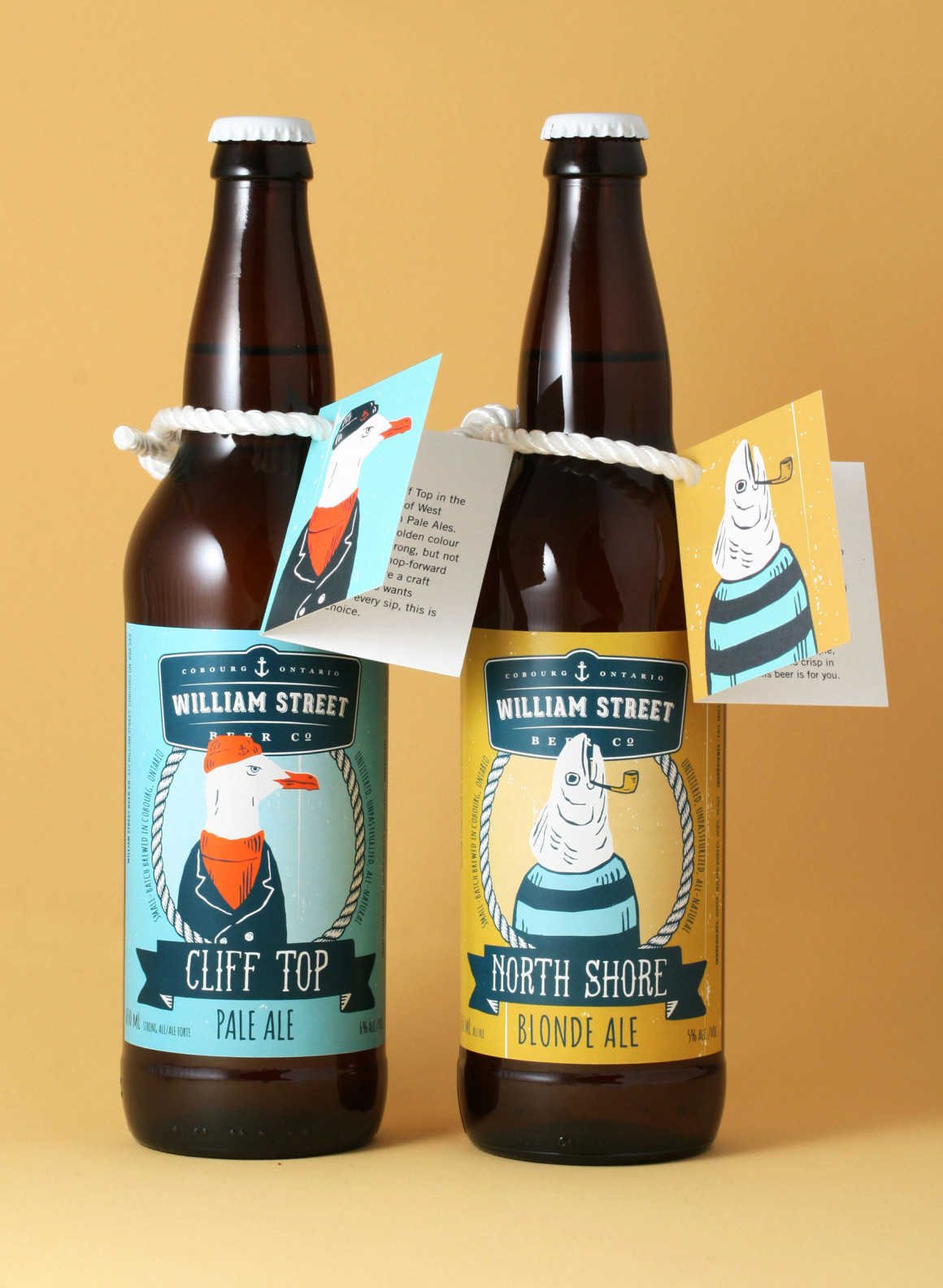 William Street Beer Co. label design – Luke Despatie & The Design Firm