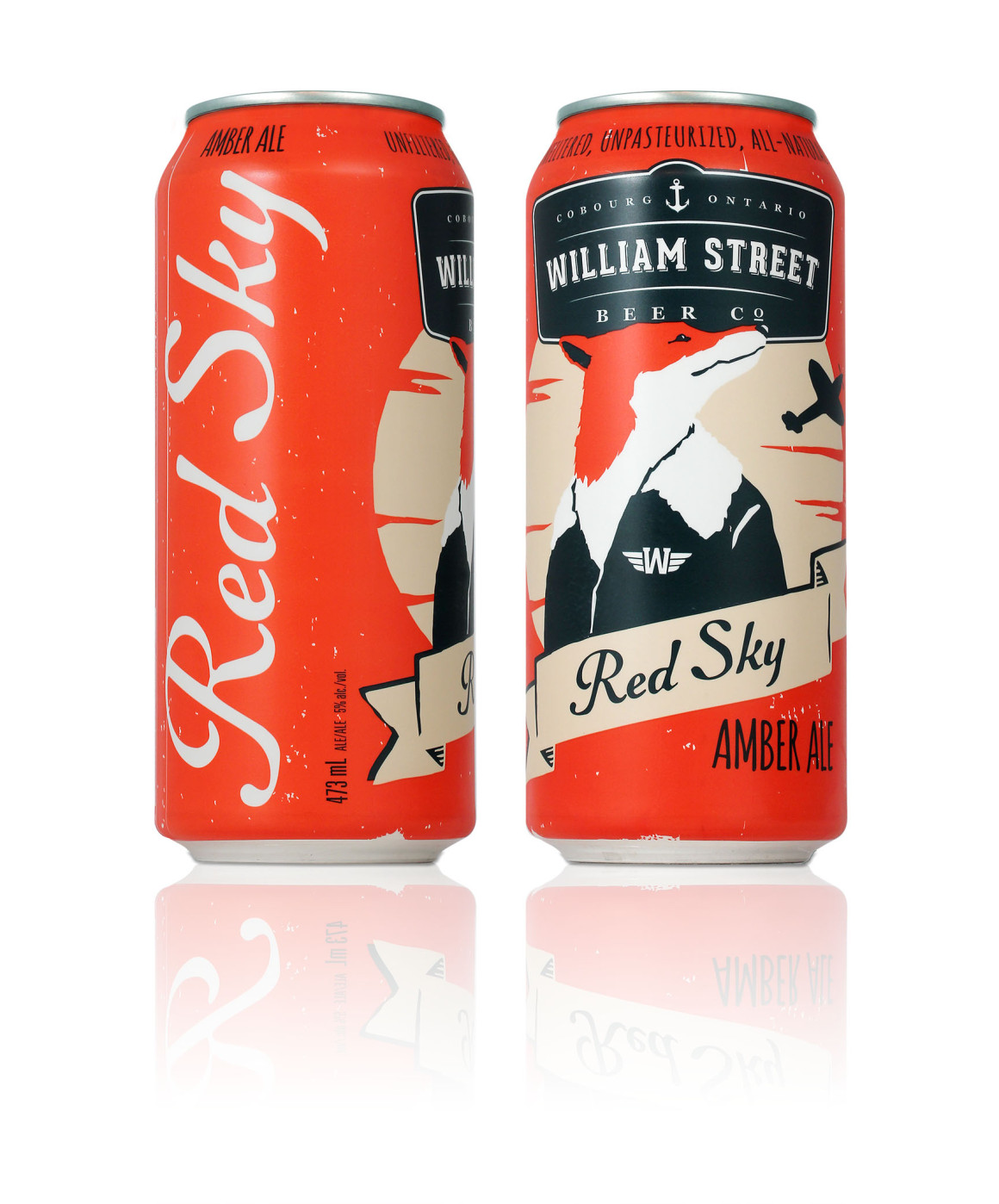 Red Sky Red Ale – William Street Beer Co. – Luke Despatie & The Design Firm