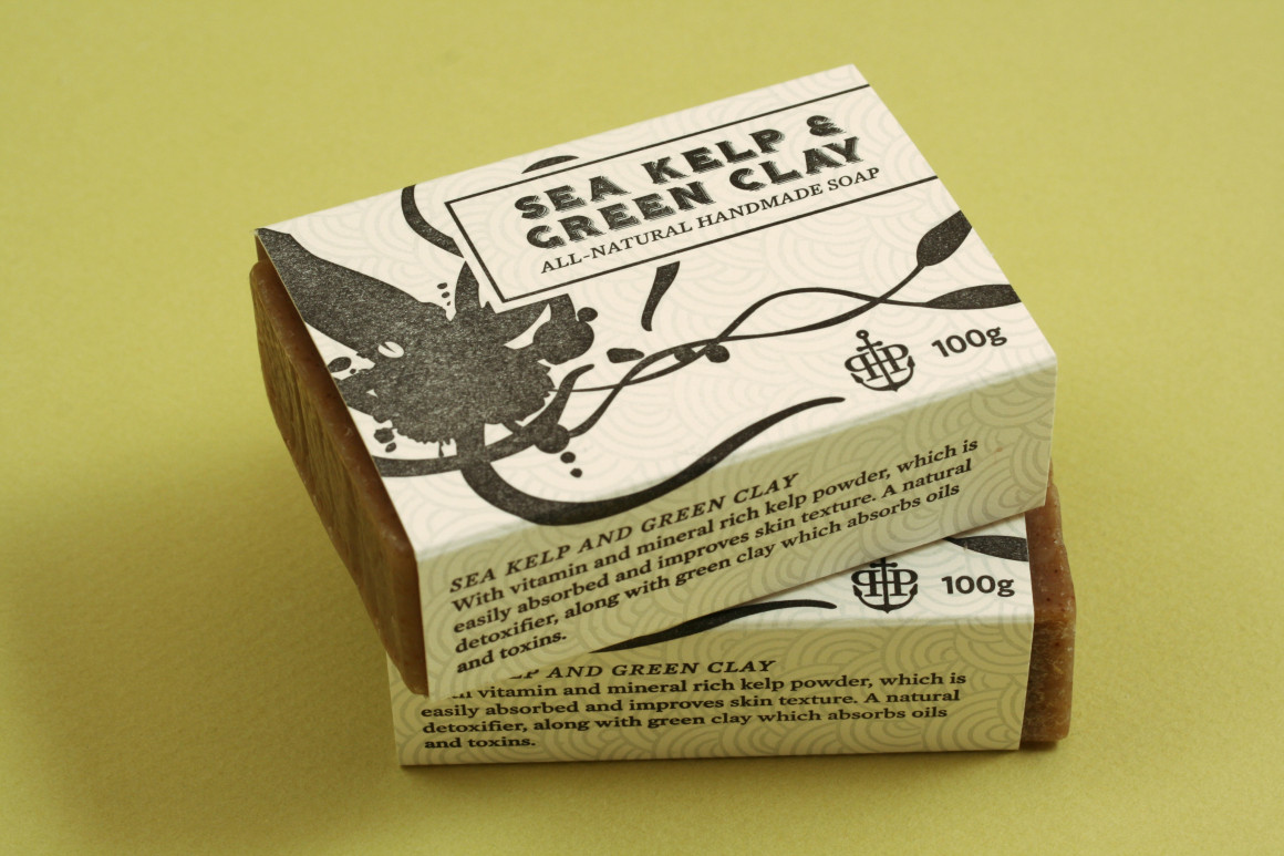 Port Hope Press Soap package design – Luke Despatie and The Design Firm